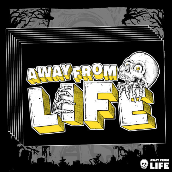 AWAY FROM LIFE - Reaper [10 Aufkleber]