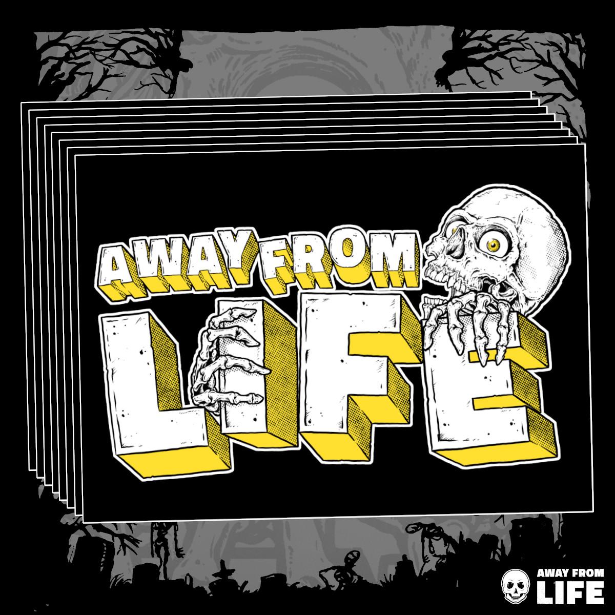 AWAY FROM LIFE - Reaper [10 Aufkleber]
