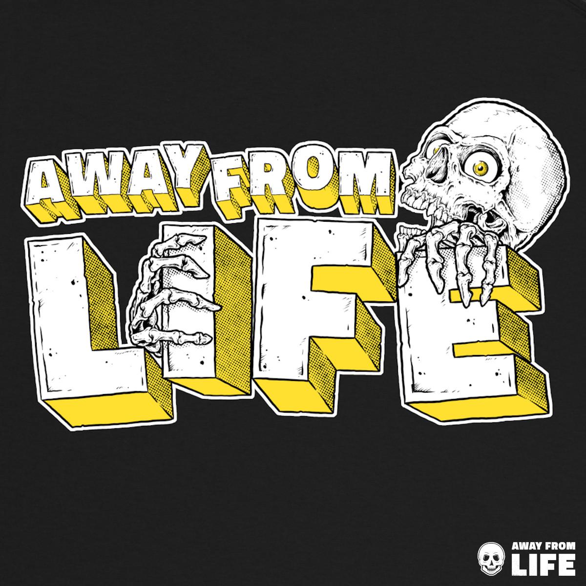 AWAY FROM LIFE - Reaper [gedrucktes T-Shirt, Back]