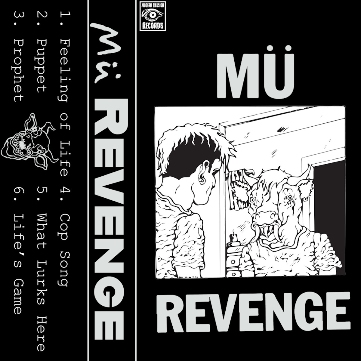 Mü – Revenge [Tape-Artwork]