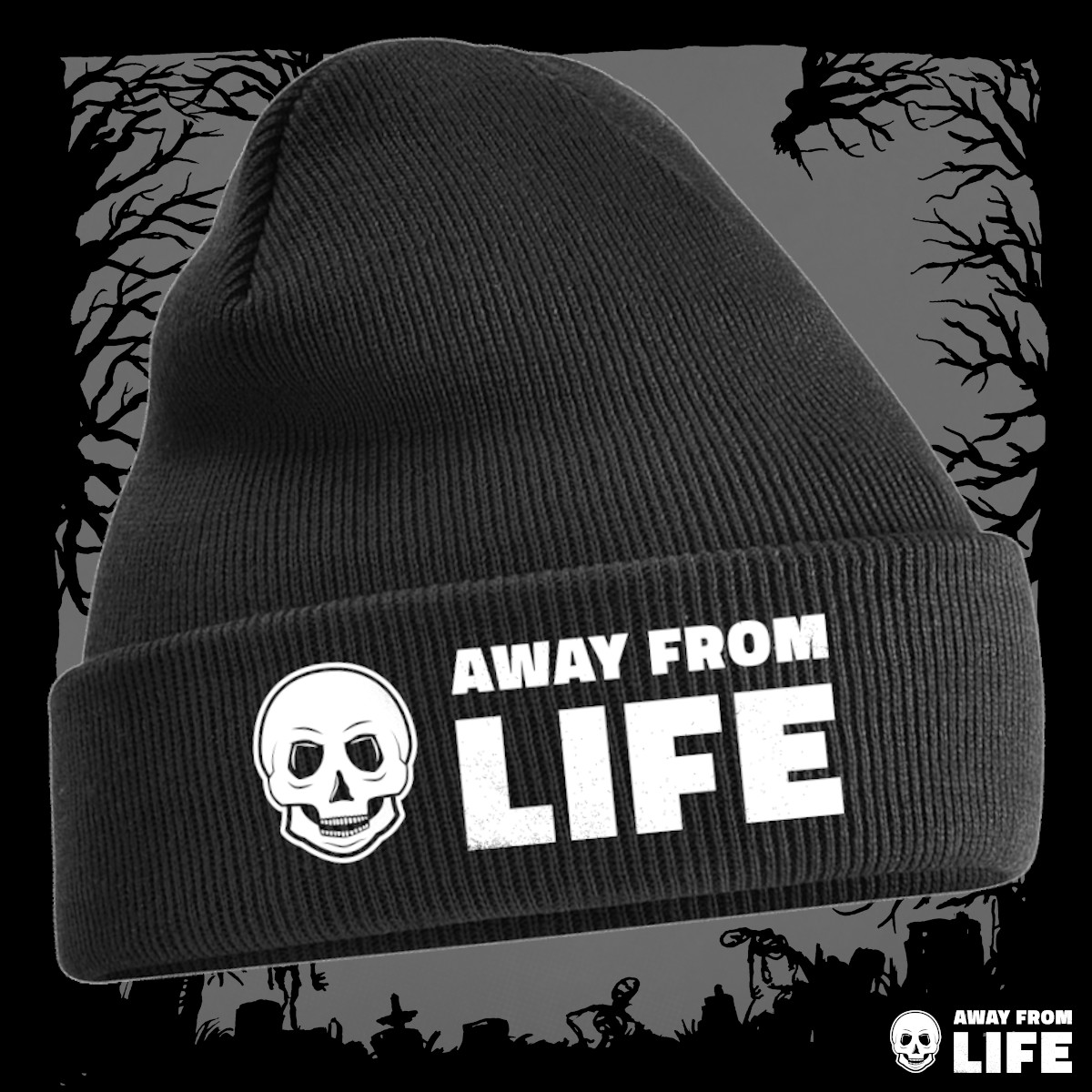 AWAY FROM LIFE - Logo [Beanie]