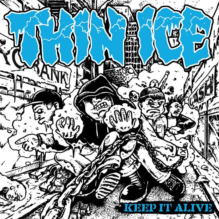 THIN ICE - Keep Alive [CD]