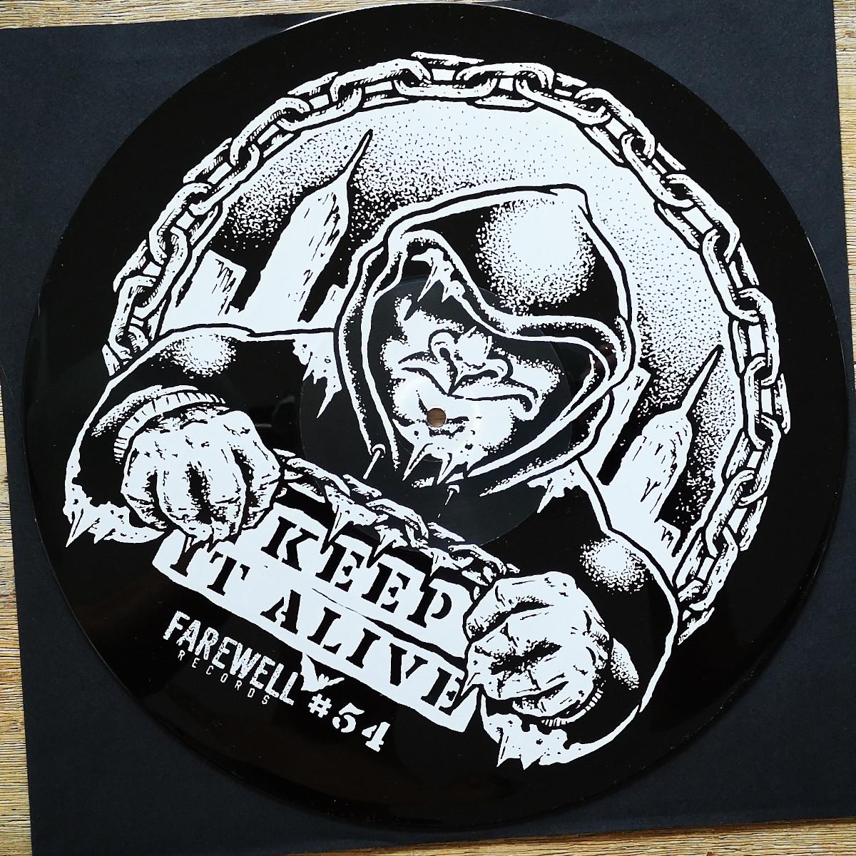 THIN ICE - Keep It Alive [Black Vinyl]