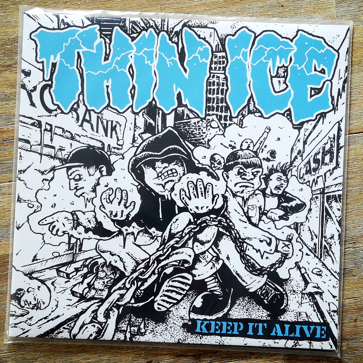 THIN ICE - Keep It Alive [Front]