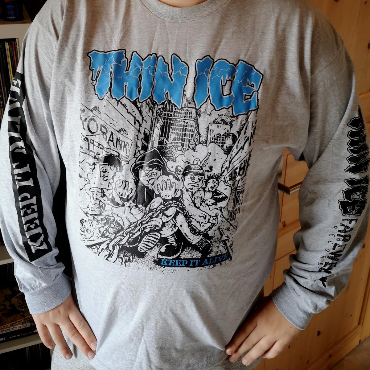 THIN ICE - Keep It Alive [Longsleeve]