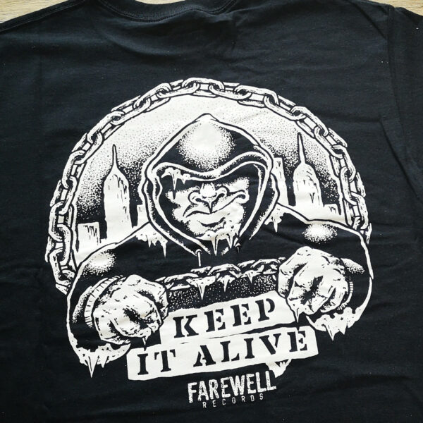 THIN ICE - Keep It Alive [T-Shirt, back]